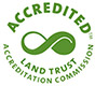 Five Rivers Conservation Trust is an accredited land trust by the Land Trust Alliance